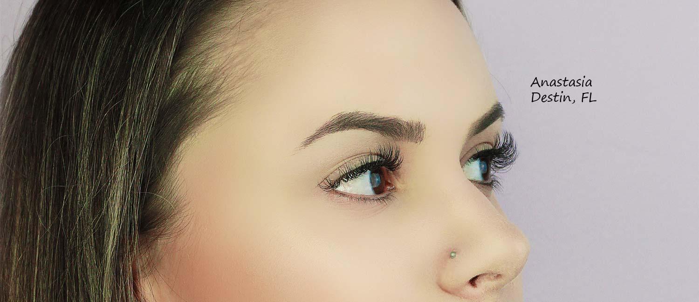 Microbalding eyebrow permanent makeup in Destin Fort Walton Navarre